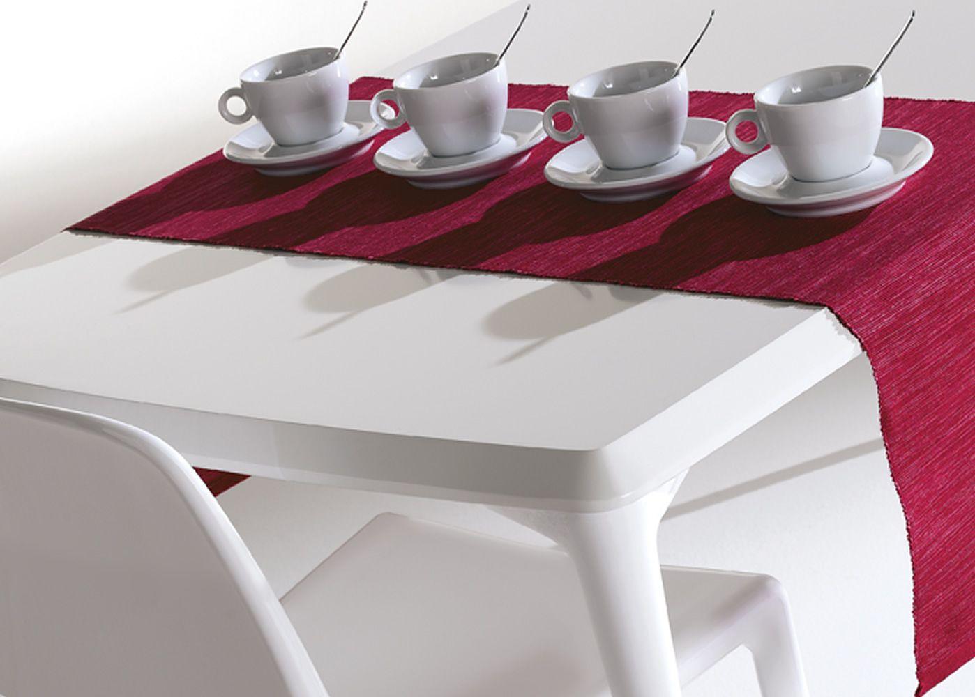 elephas feststehender tisch infiniti aus aluminium platte aus mdf 160 x 80 cm in. Black Bedroom Furniture Sets. Home Design Ideas