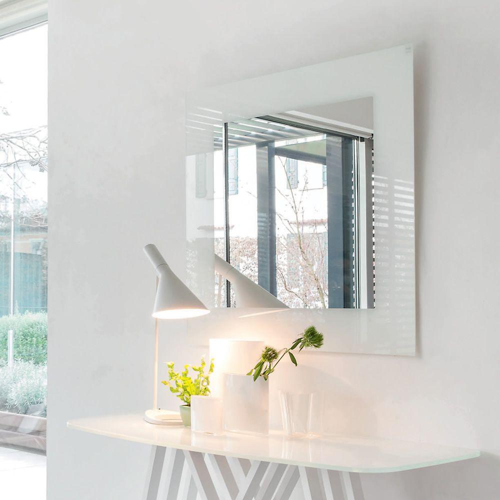 Toshima 5032 Specchio Quadrato Tonin Casa Con Cornice In