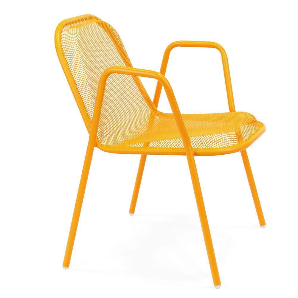 golf p fauteuil emu en m tal pour jardin empilable. Black Bedroom Furniture Sets. Home Design Ideas