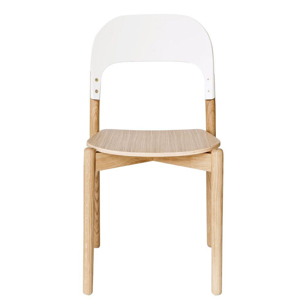 Paula Chaise design en bois Sediarreda # Chaise Bois Design