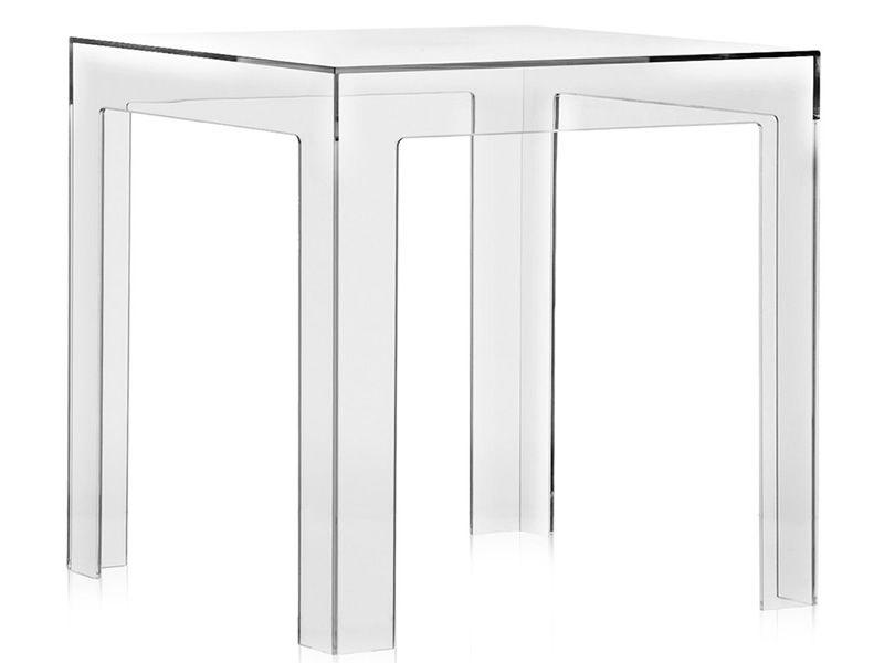 Jolly design tisch von kartell 40x40 cm aus for Tisch bild von ivy design