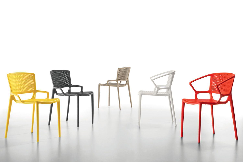 Fiorellina t chaise empilable infiniti en polypropyl ne - Chaise bureau reaction infiniti design ...
