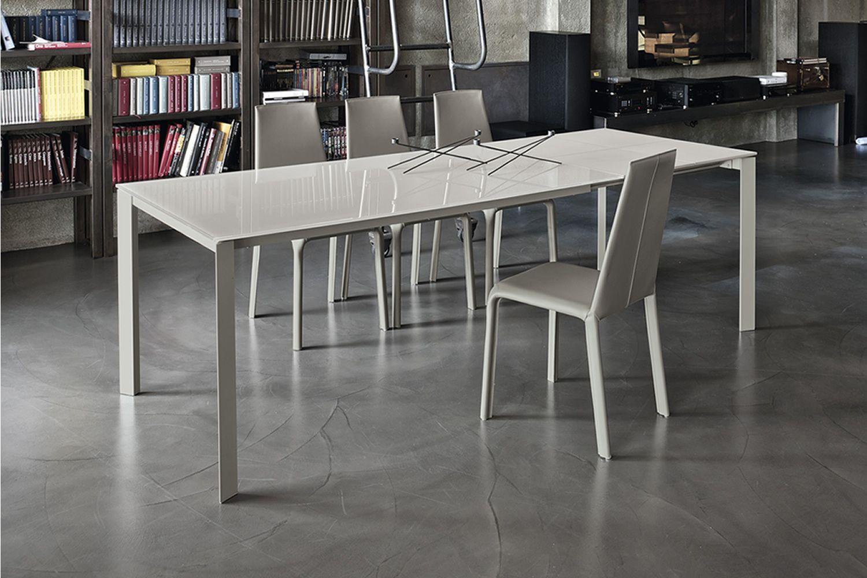 Dublino - Tavolo di design Bontempi Casa, in metallo con piano 160 x ...