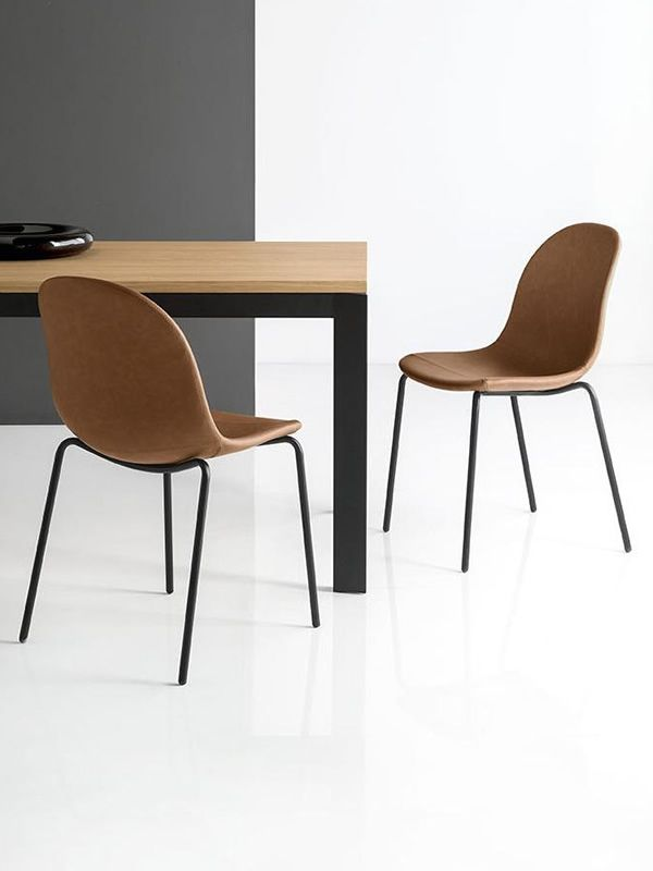 Cb1663 Sk Academy Sedia Connubia Calligaris In Metallo