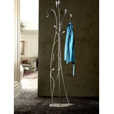 Garden - Coat stand made of wrought-iron, available in several colours