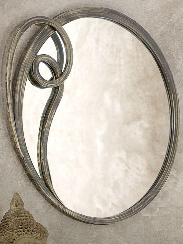 Azzurra specchio specchio in ferro disponibile in - Specchio anticato ...