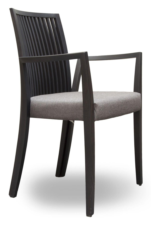 Forma stick p silla moderna tonon con reposabrazos - Sillas con reposabrazos de comedor ...