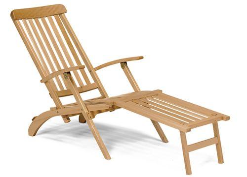 ls2 chaise longue pieghevole in legno sediarreda