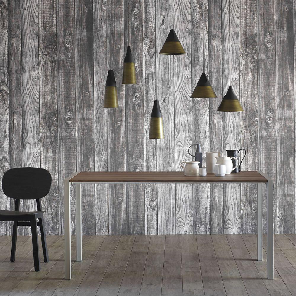 Tavolo Allungabile Gambe Sciabola Ghost Miniforms : First tavolo rettangolare miniforms in metallo e legno