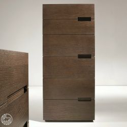 asola d cassettiera alta dall 39 agnese in legno diverse finiture disponibili sei cassetti. Black Bedroom Furniture Sets. Home Design Ideas