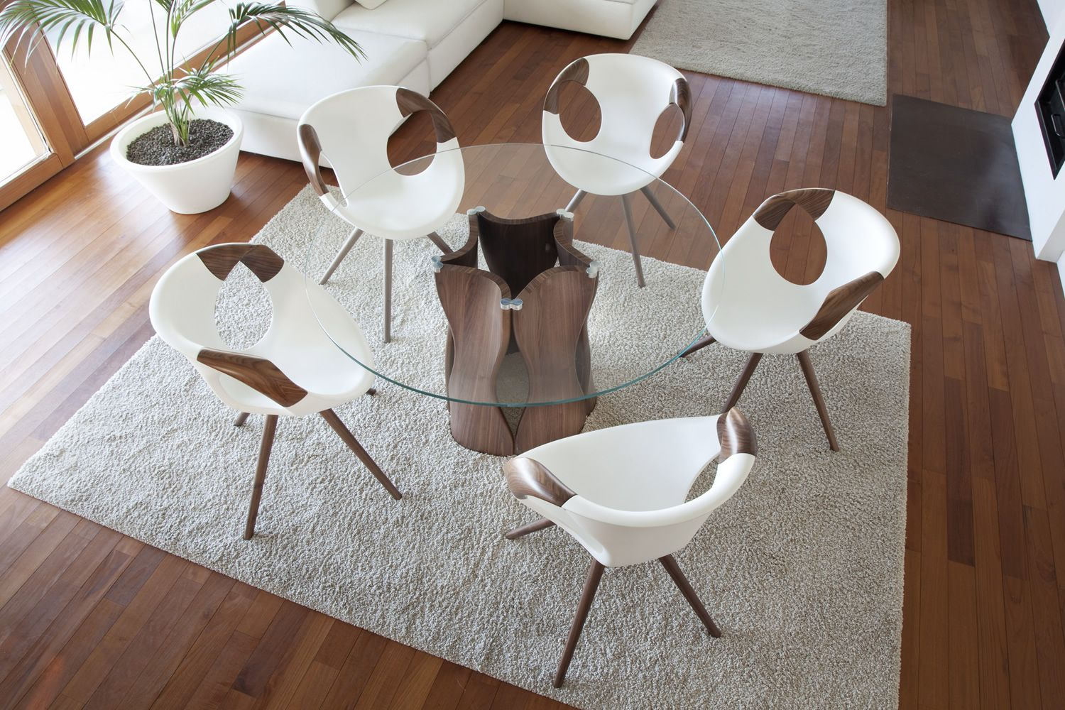 ... Up Chair Wooden Arms   Modern Chair With Wood Structure By Tonon ...