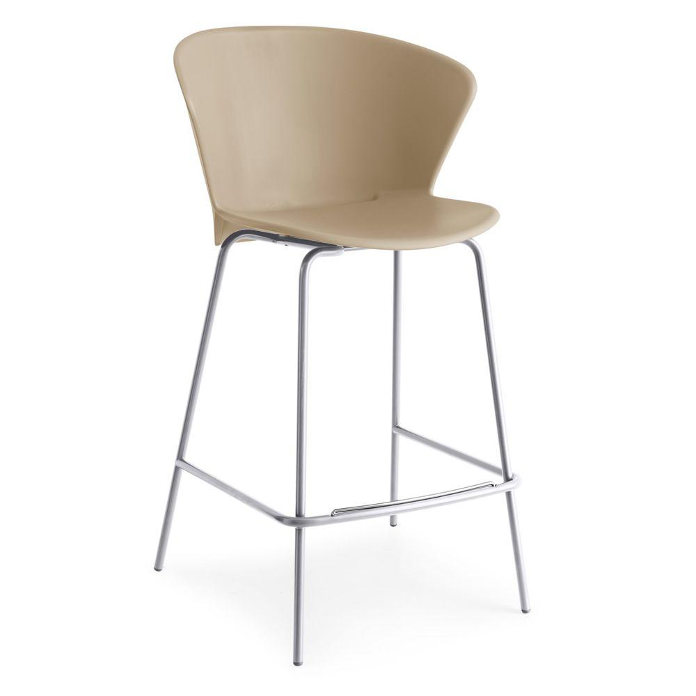 Cs1817 a bahia tabouret en m tal avec assise en polypropyl ne de - Mousse pour assise canape ...