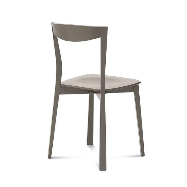 Chili sedia domitalia in legno diversi colori for Sedie design grigie