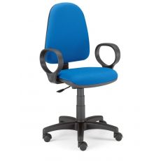 ML305 - Sedia operativa per ufficio, diversi rivestimenti disponibili