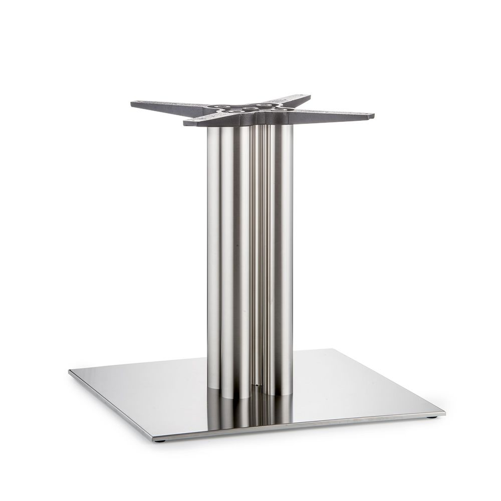 4499 inox for bars and restaurants big dimensions table base for bar or restaurant in metal. Black Bedroom Furniture Sets. Home Design Ideas