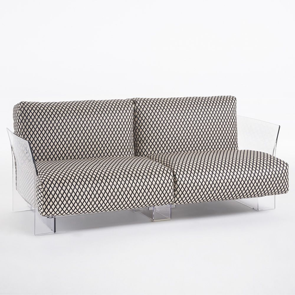 Pop by Sottsass: Design sofa Kartell, 2 or 3 seats, with ... for Ettore Sottsass Sofa  56mzq