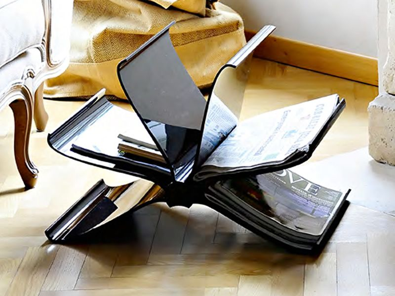 front page porte revues kartell de design en polycarbonate diff rentes couleurs aussi pour. Black Bedroom Furniture Sets. Home Design Ideas