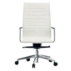 Dahlia High - Executive chair, high backrest, available in fabric, leather or imitation leather