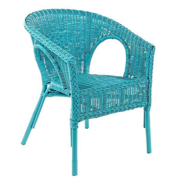 lario fauteuil en rotin avec coussin diff rentes couleurs pour jardin sediarreda. Black Bedroom Furniture Sets. Home Design Ideas