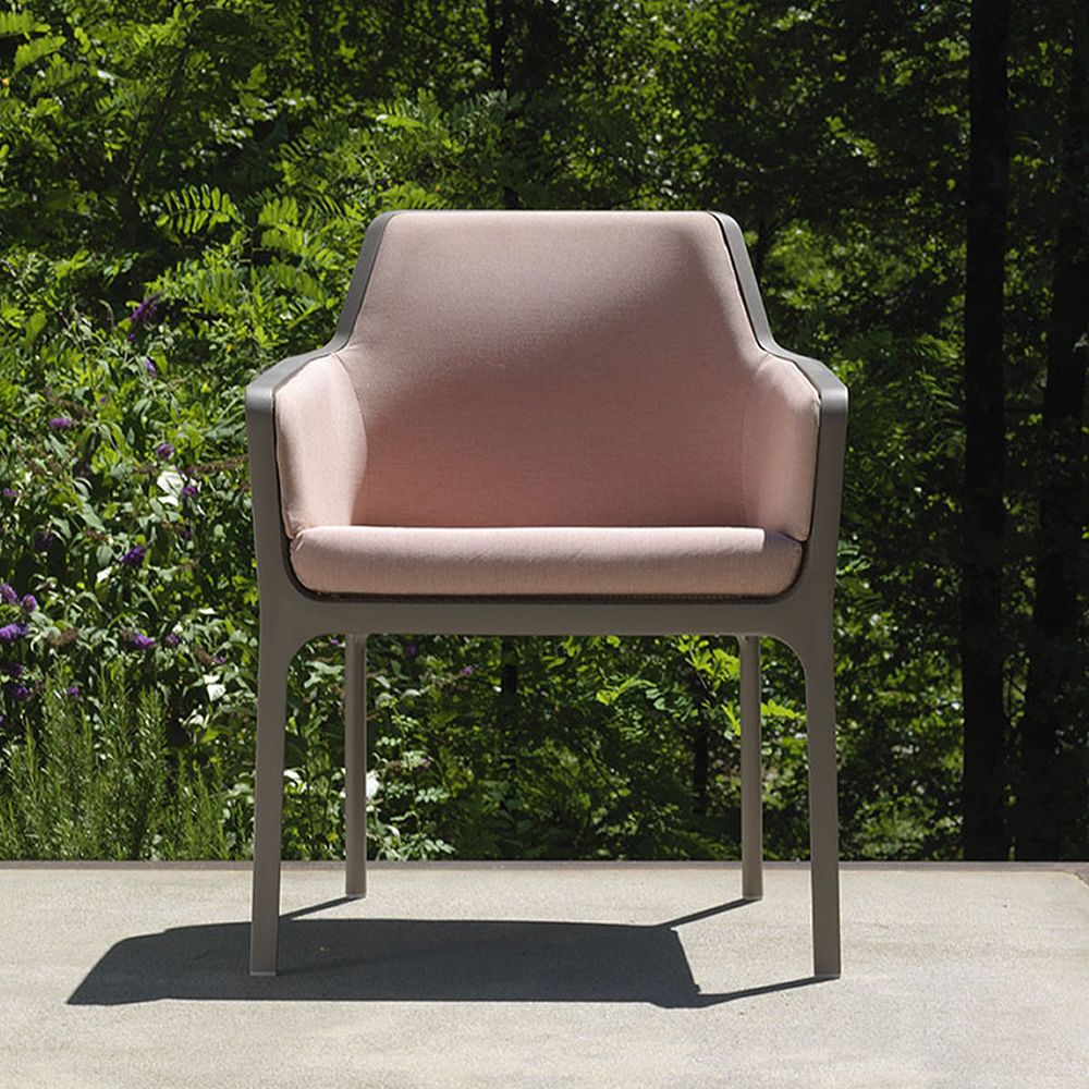 Net Relax - Polypropylene armchair, stackable, with ...