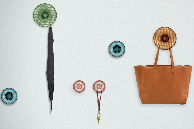 Jellies coat hangers appendiabiti da parete kartell di design