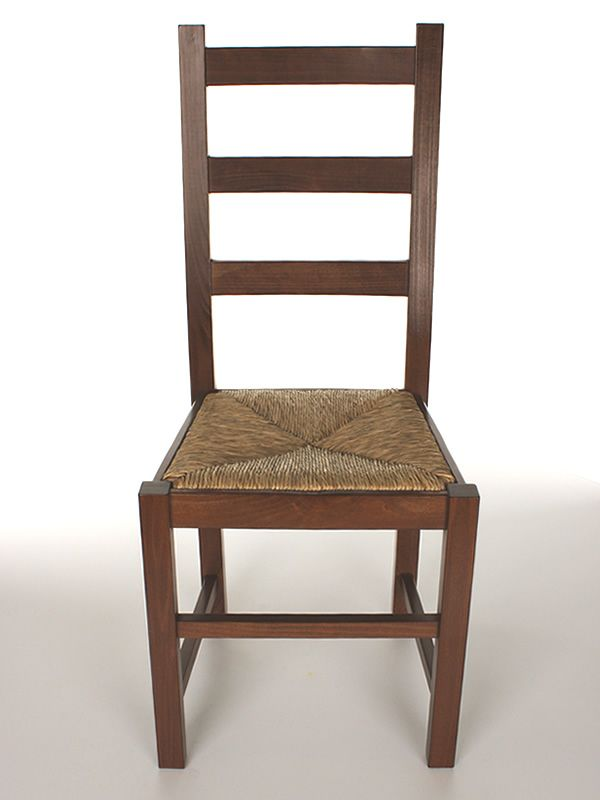 Mu82 pour bars et restaurants chaise rustique en bois pour bars et restaura - Assise en paille pour chaise ...