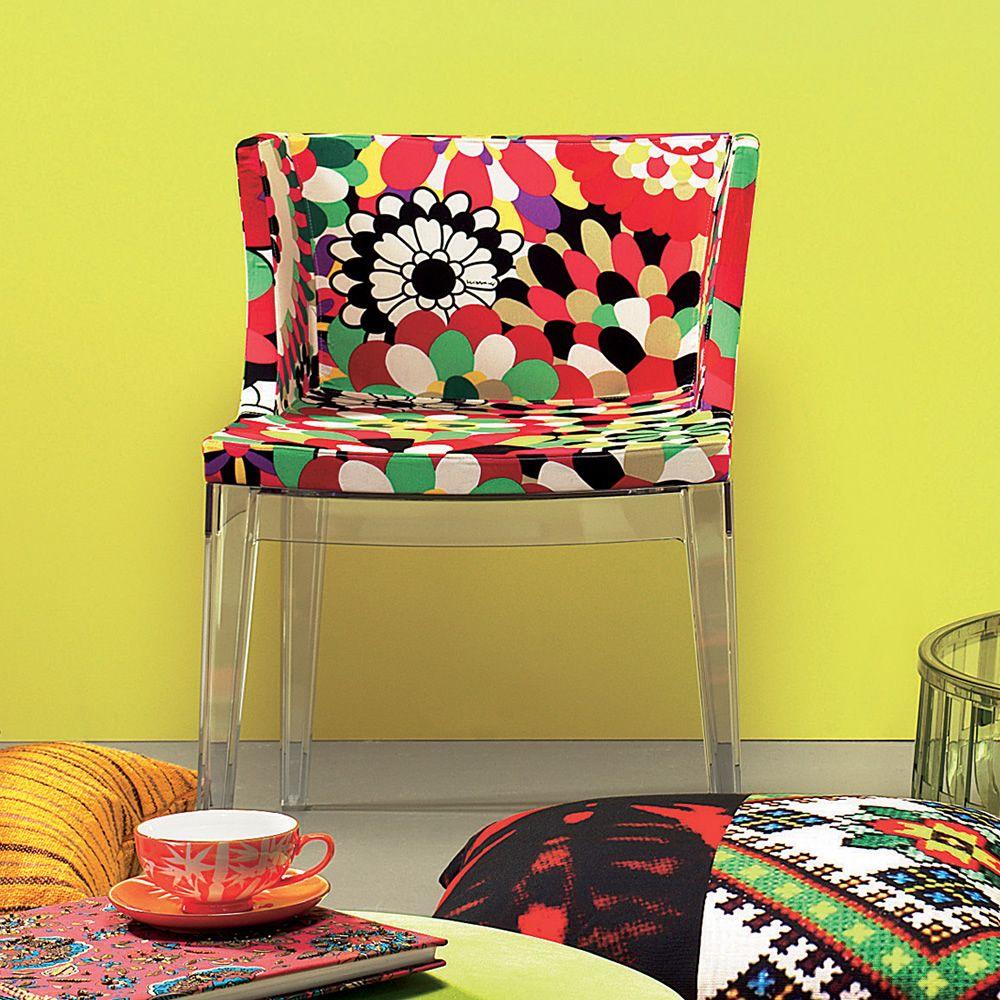 A Pair Of Kartell Mademoissele � La Mode Missoni: Poltroncina Kartell Di Design