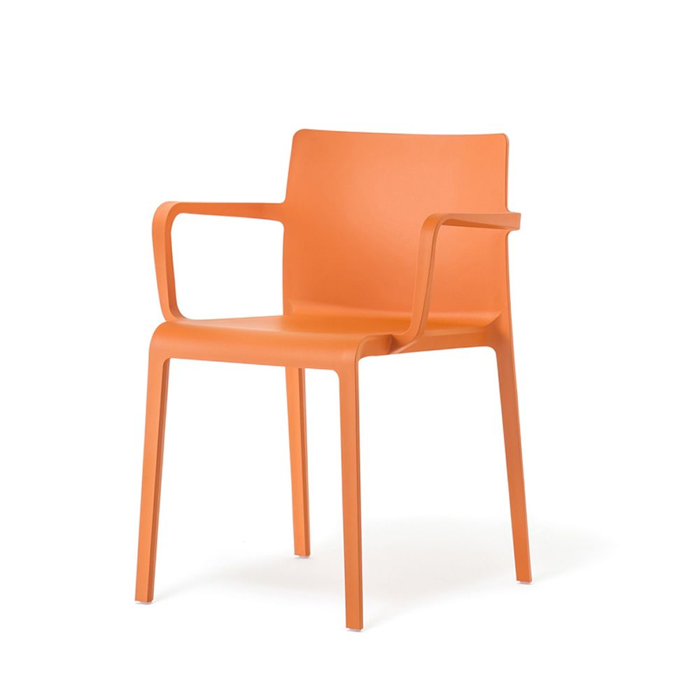 Volt 675 pour bars et restaurants bar chaise avec accoudoirs en polypropyl ne empilable for Chaise bar couleur