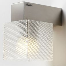 Didodado P - Wall lamp in steel and methacrylate, in several colours