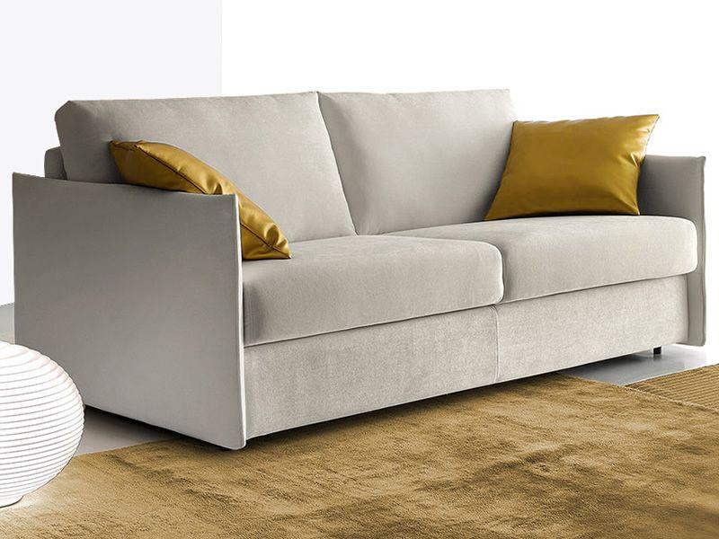 Piemonte divano letto a 2 3 o 3 posti xl rivestimento in tessuto od ecopelle sfoderabile - Tessuto rivestimento divano ...