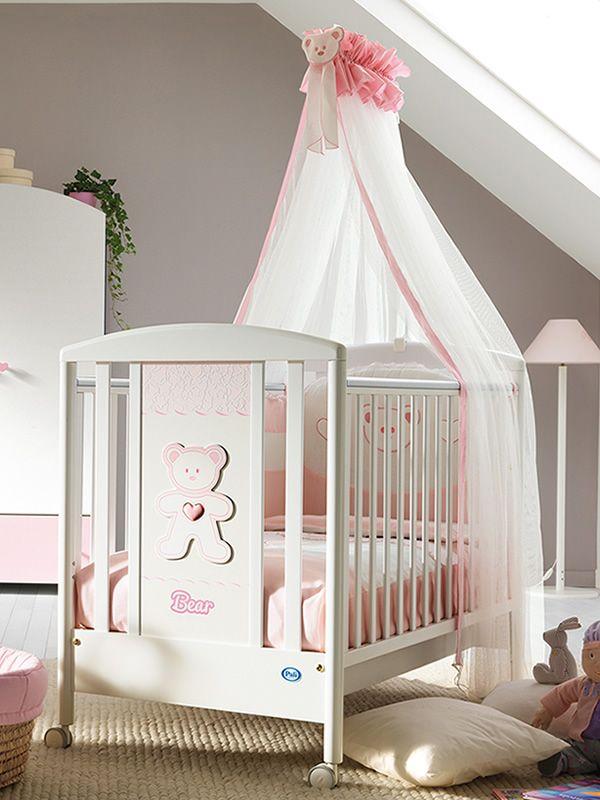 loving bear lit b b pali en bois avec tiroir sommier lattes r glable en hauteur. Black Bedroom Furniture Sets. Home Design Ideas