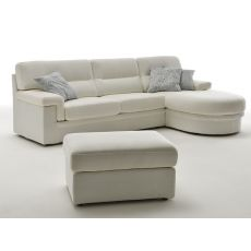 City Chaise Longue - Modern sofa, 1 seater, 2 or 3 seaters plus chaise longue