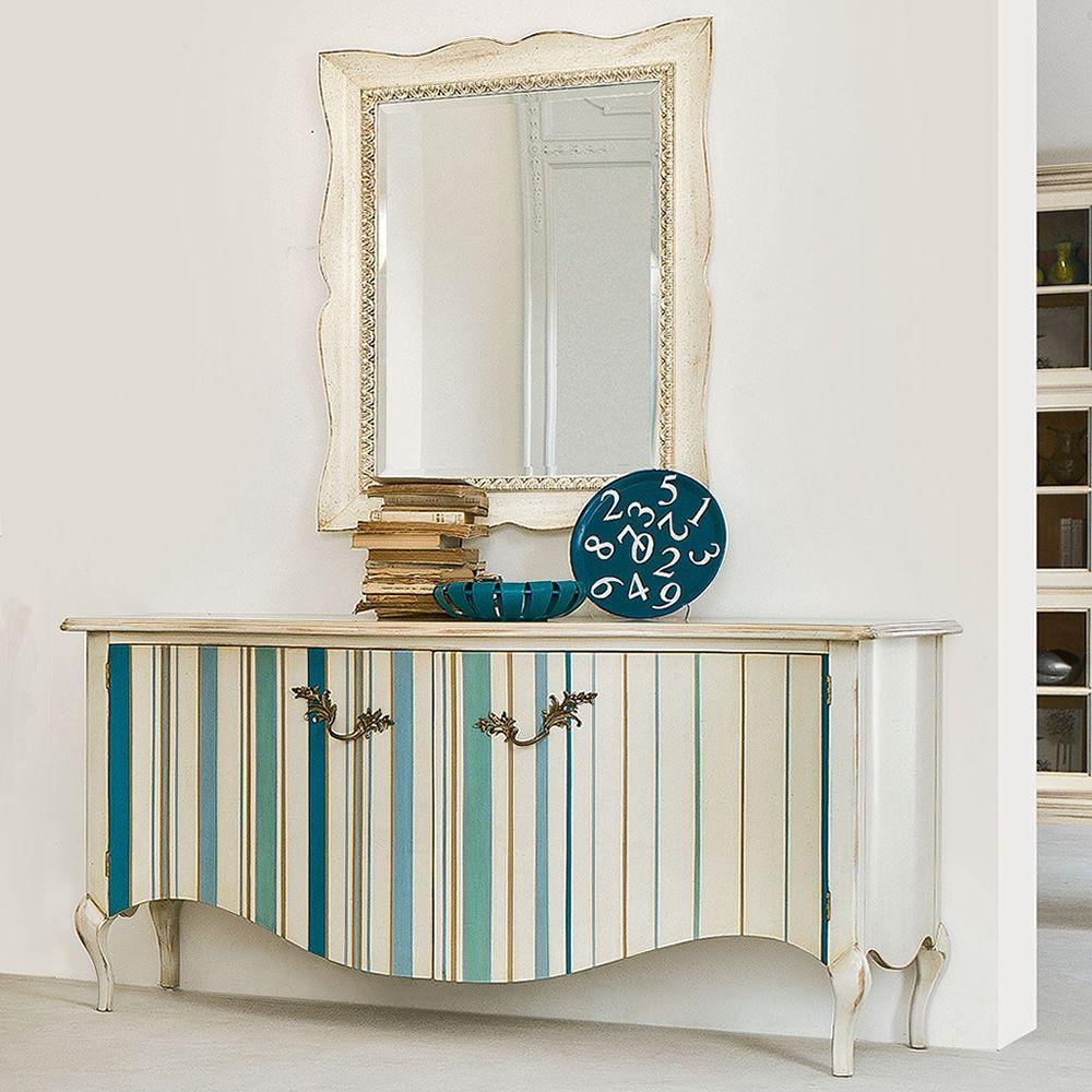 Marte 4955 espejo tonin casa con marco cl sico de madera for Espejo rectangular con marco de madera