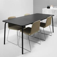My Table - Tavolo fisso Normann Copenhagen in metallo con piano in laminato, diversi colori e misure disponibili