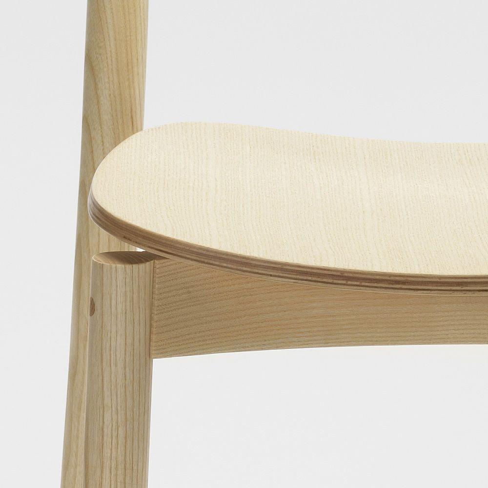 Nico para bare y restaurantes silla de bares de madera - Sillas de madera para bar ...