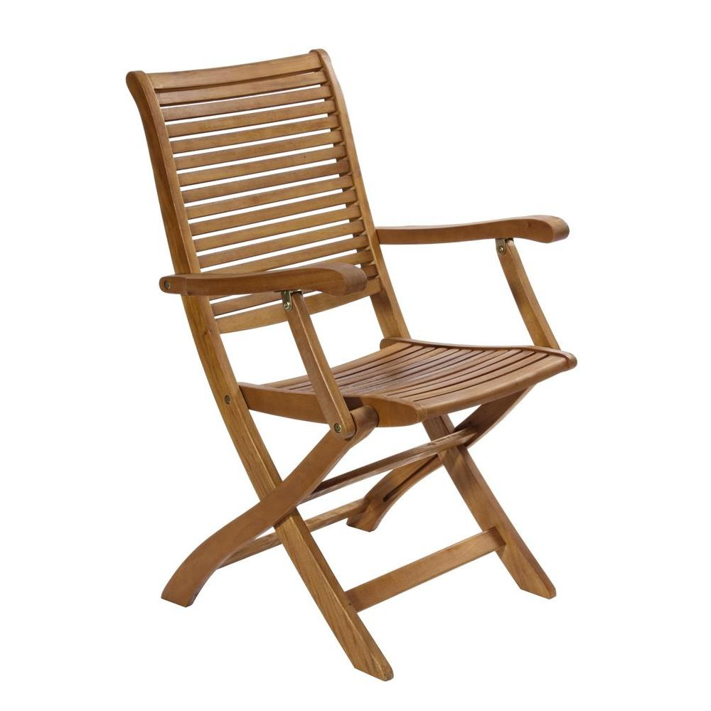 Tortuga chaise pliante de jardin en bois balau quip e d - Sillas de jardin baratas ...