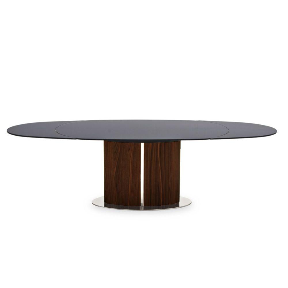 Cs4043 odyssey tavolo allungabile calligaris in legno piano in vetro 165 x 105 cm sediarreda - Tavolo vetro allungabile calligaris ...