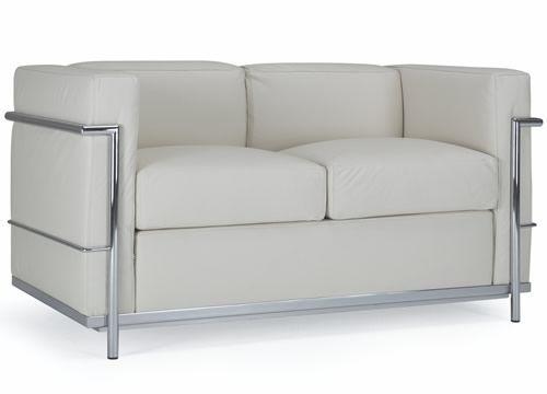 Ml161p divano a due posti in pelle o ecopelle differenti for Poltrone finta pelle