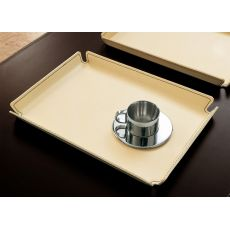 Micky - Tray for knickknacks entirely covered with bonded leather, different colours and sizes available