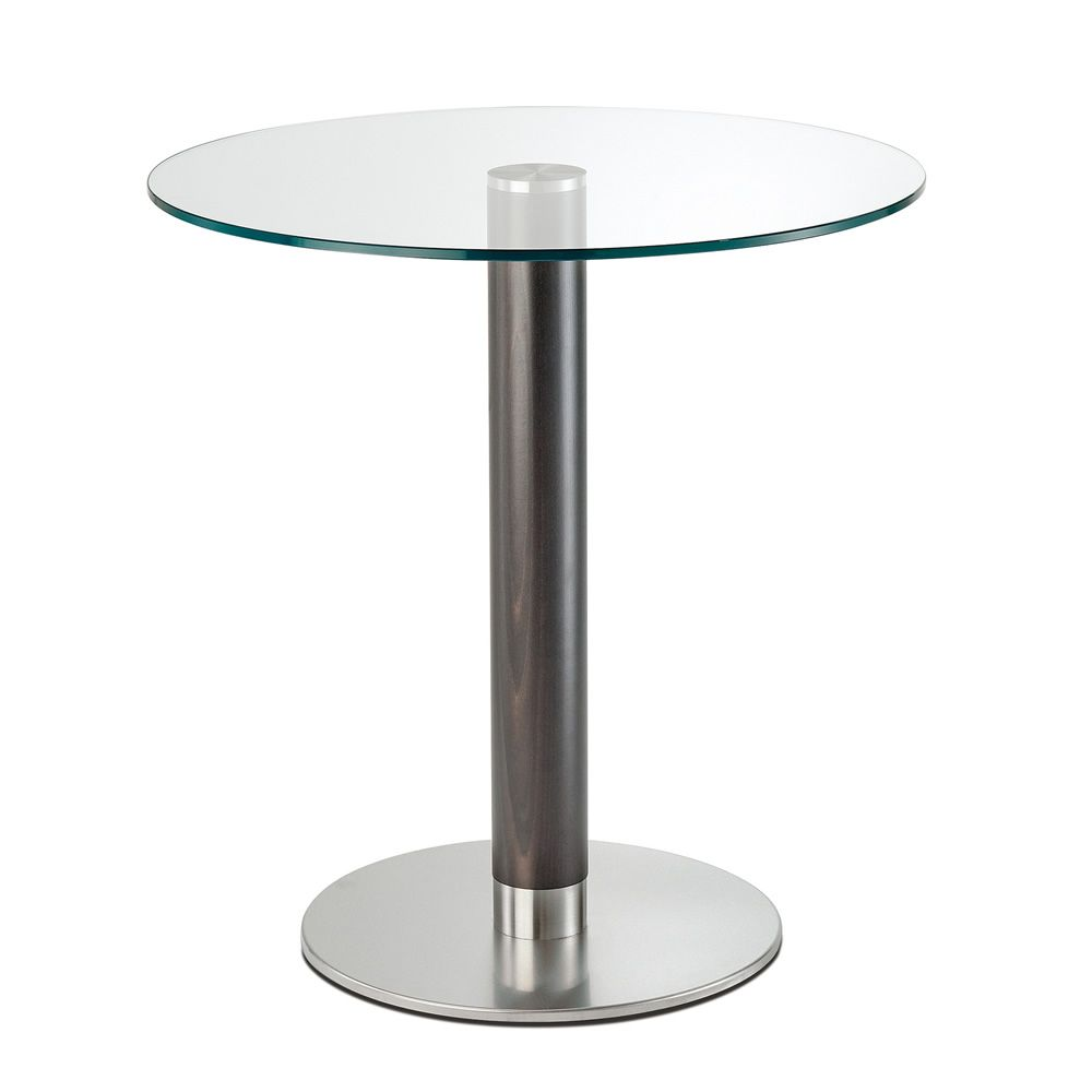 Pe4411fx per bar e ristoranti basamento rotondo per tavolo da bar o ristorante in metallo e - Piano in vetro per tavolo prezzi ...