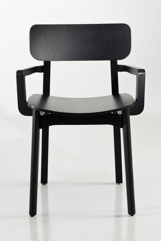 Cacao Designer Stuhl von Chairs&More aus Holz in