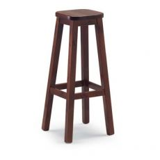 AV309A - Country style wood stool