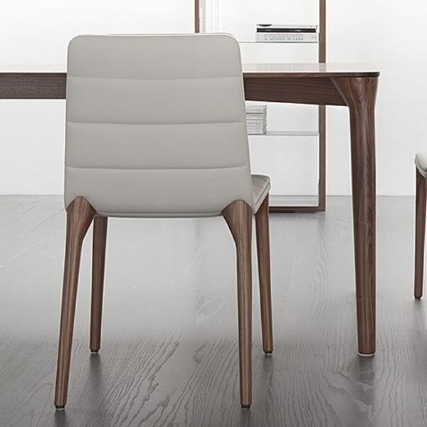 pit design stuhl von tonon gepolstertes holz verschiedene farben sediarreda. Black Bedroom Furniture Sets. Home Design Ideas