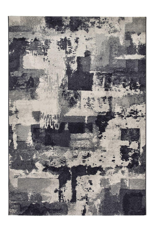 Capri 32374 tappeto moderno in diverse misure e colori for Tappeto nero moderno