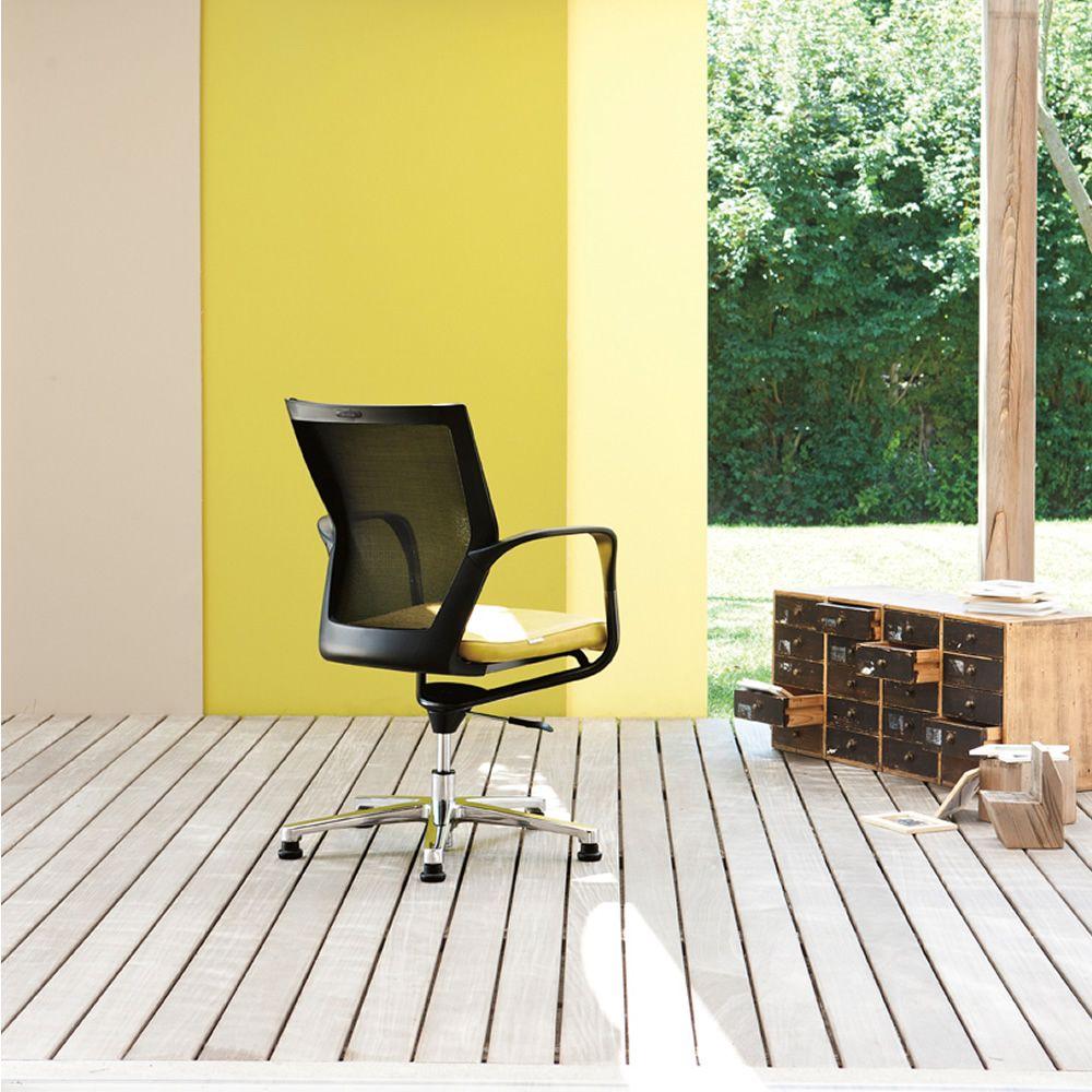 x chair host chaise de bureau directionnel avec ou sans roues assise rembourr e et dossier en. Black Bedroom Furniture Sets. Home Design Ideas