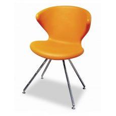 Concept - Sedia design di Tonon, in metallo e poliuretano, diversi colori