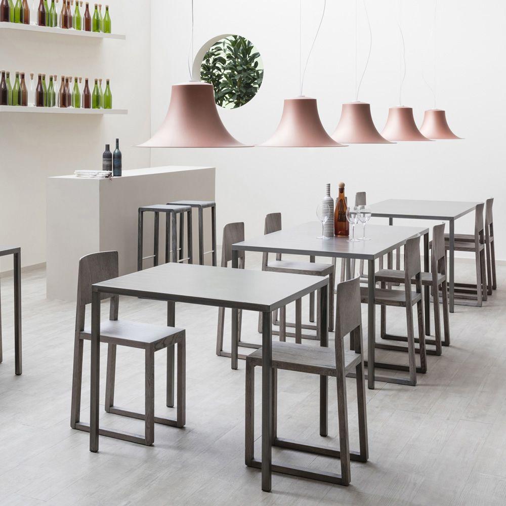 Fabbrico per bar e ristoranti tavolo di design per bar for Tavolo di design in metallo