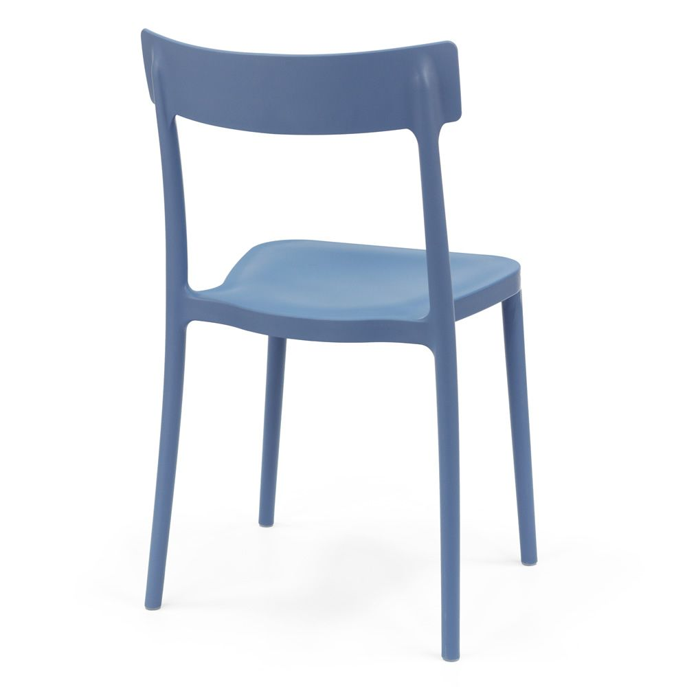 Sedie In Polipropilene Da Giardino.Cb1523 Argo Sedia Impilabile Connubia Calligaris In