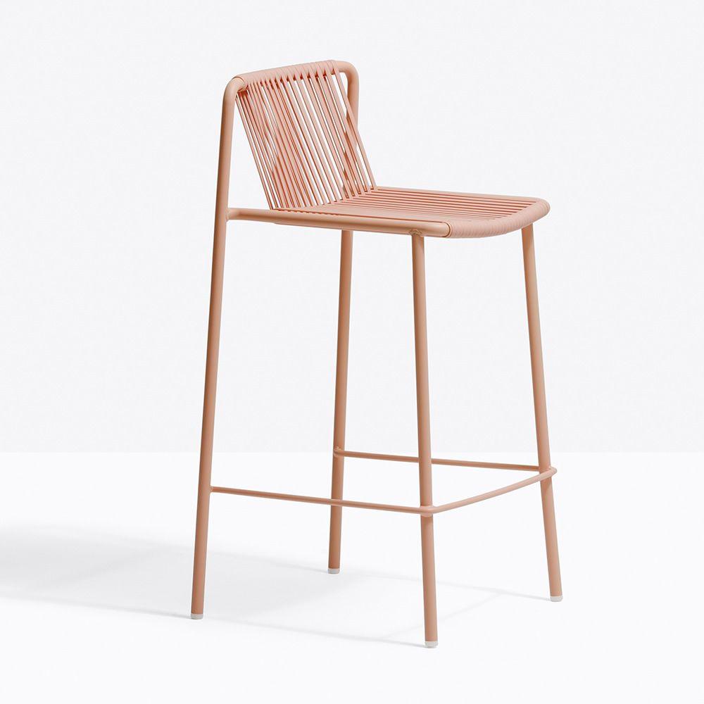 tribeca stool tabouret pedrali en m tal et pvc empilable hauteur assise 65 ou 75 cm aussi. Black Bedroom Furniture Sets. Home Design Ideas