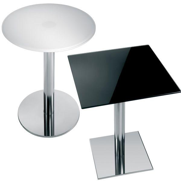 Pe vetro per bar e ristoranti piano tavolo per bar in for Piano tavolo vetro